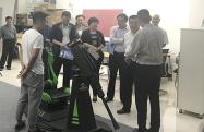 省委领导曾垂瑞到卡卡视界调研虚拟现实服务