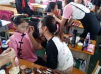 学校比赛化妆实操