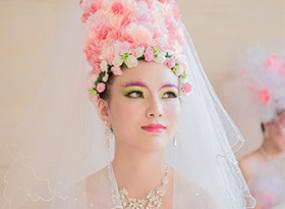 创意新娘造型