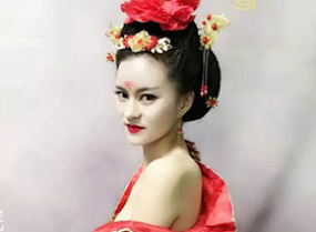唐装 古装妆面造型