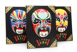 京剧脸谱摆件挂件面具 中国特色工艺品