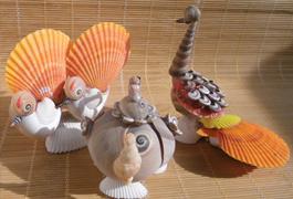 特价海螺贝壳工艺品 小朋友学生新年创意礼