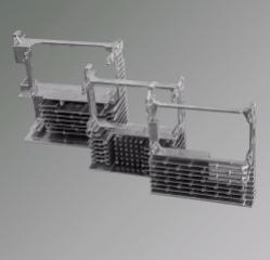 鋁壓鑄伺服電機散熱器