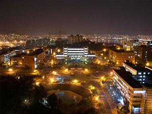 釜庆大学夜景