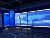 永修县电视台演播厅软膜背景墙软膜