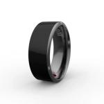 智能戒指R3黑 第三代NFC高科技配饰