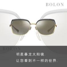 【一元夺宝】BOLON暴龙2018新款太阳镜明星同款时尚墨镜女个性潮流眼镜