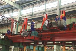华菱衡钢720机组在流水线横移装置技改