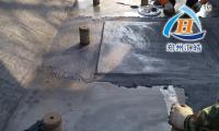 HH7052耐磨涂层施工现场