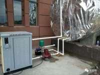 500平米微变频供暖机组案例
