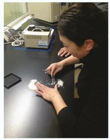 加工过程中检测米质