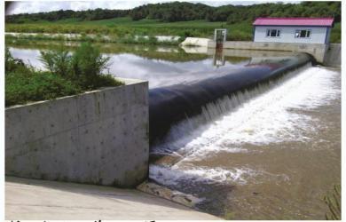 橡胶坝灌溉渠1