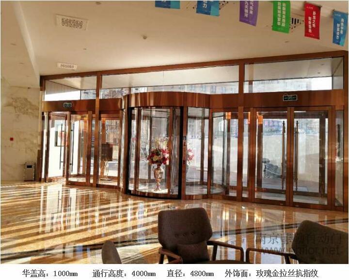 哈密银河酒店会议中心 --- 豪华两翼自动旋转门