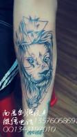 狮子头纹身、南昌专业纹身