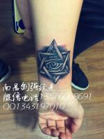 上帝之眼纹身、南昌剑强纹身