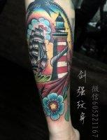 南昌纹身-彩色纹身