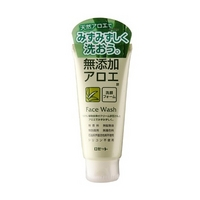 日本进口&露姬婷芦荟水润洗面奶&美白补水保湿锁水