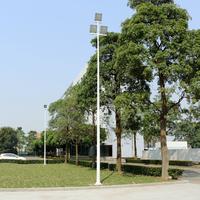 篮球场照明灯杆 锥形一拖三灯杆柏克供应 灯杆厂家