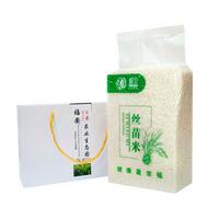 丝苗米 增城特产 福安有机 丝苗米礼品箱  有机米
