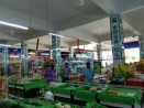 周口广告设计制作—伊利展柜柱子形象超市卖