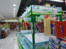 周口广告设计制作—超市伊利金典专区安装