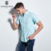 【批发】约翰普森短袖衬衫印花色织系列