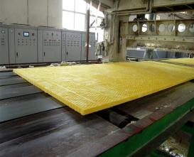 玻璃棉的热固化深加工处理