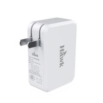 Hawk/浩客 C063 PDType-C  双口USB充电器
