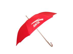 【雨伞厂家】订做安踏铝合金拉簧伞