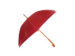 【雨伞厂家】订做友谊商店木中棒广告伞