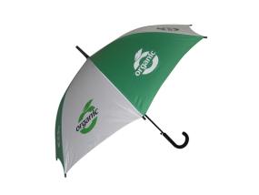 【雨伞厂家】订做苹果绿色环保形广告伞