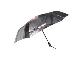 广州雨伞厂生产订做彩图全自动三折伞