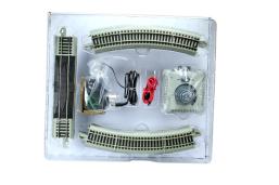 百万城仿真金属镍合金升级版轨道套装火车轨