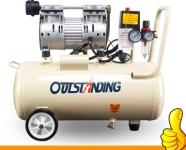 静音空压机气泵无油小型空气压缩机牙科木工喷漆便携冲气泵