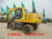 小松130轮式挖机(26万起)质保一年,