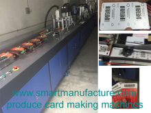 SMBPM-2 High Speed DOD UV Inkjet Printing Machine with card personalization