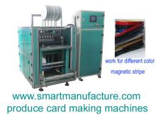 SMMCM-3 Full Automatic Multifunctional Magnetic Stripe Bonding Machine