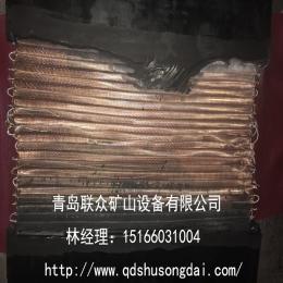 耐烧灼金属网芯输送带