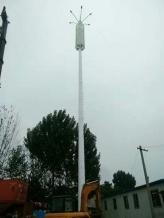 通讯单管塔