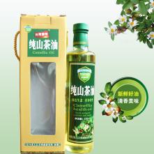 500ml纯山茶油