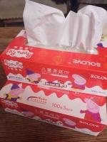 小猪佩奇儿童柔纸巾