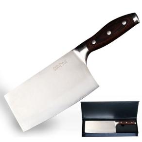 意大利品牌 斯罗尼 SIRONI 不锈钢菜刀