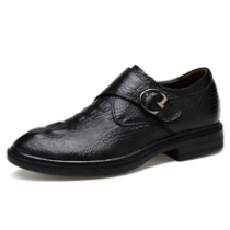 鳄鱼纹商务45男士休闲皮鞋46特大码47正装透气48加大号49真皮男鞋