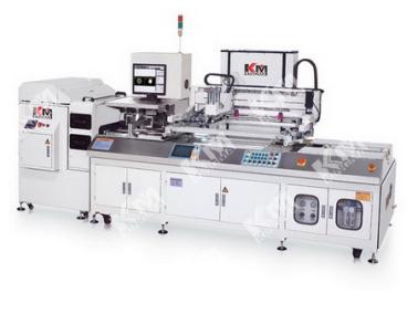 全自动CCD影像对位丝印机+全自动除尘清洁机