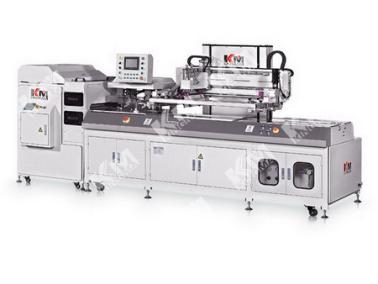全自动丝印机+全自动除尘清洁机