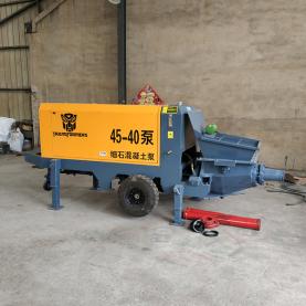 40型细石混凝土输送泵