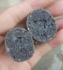 页岩陶粒横切面