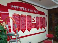 周口广告设计-中国移动公司背景形象墙制作安装