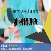 2017中西医结合助理医师冲刺精讲班