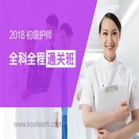 2018初级护师全科全程通关班